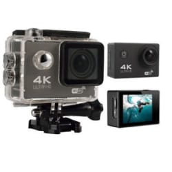 4K Ultra HD Wifi Action Camera With Waterproof Casing 170 Degree LCD