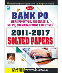 Kiran's Bank PO 2011-2017 Solved Papers - 1945