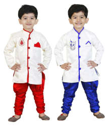 GENERATION NEXT MULTI COLOR SHERWANI FOR BOYS