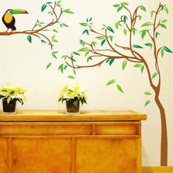 6903 | Wall Stickers Tree with Kingfisher