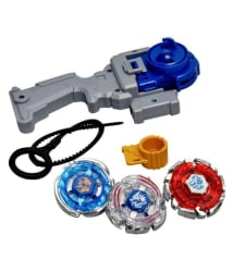 3 In 1 Metal Beyblade With 4 D system n Handle With launcher