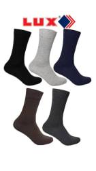 Lux Cozi Mozze Men s Cotton Assorted Long Socks - Pack of 5 Pair