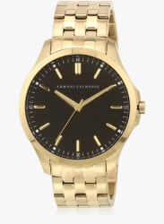 Ax2145i Golden/Black Analog Watch