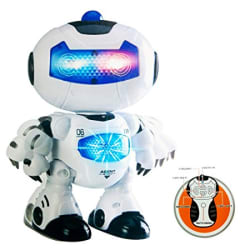 Toy House Battery Operated RC Robot, White