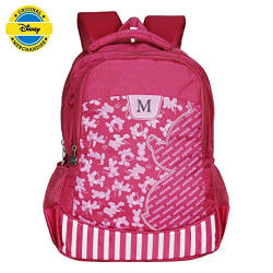 Disney School Bag 07+ Yr M Mickey 27 L Pink-Dm-0028
