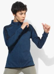 Fw17 Store Training Blue Sweat Jacket
