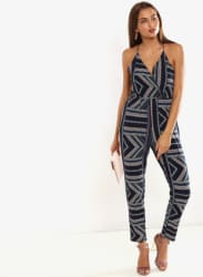 Multicoloured Printed Jumpsuit