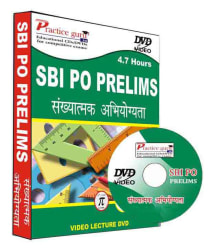 SBI PO Prelims Quantitative Aptitude Video DVD (Hindi DVD
