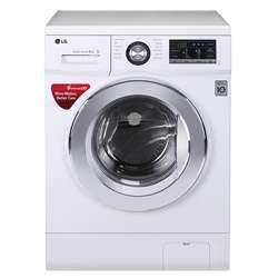 LG 8kg FH4G6TDNL22 Front Loading Washing Machine (White)
