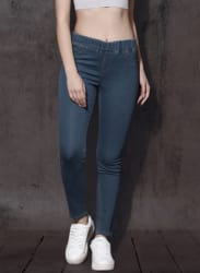 Blue Washed Jeggings
