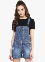 Blue Washed Dungaree