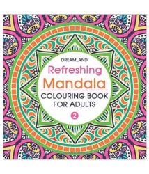 Refreshing Mandala Colouring Book For Adults Paper Back English