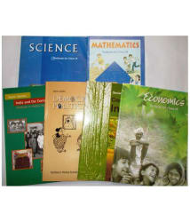 NCERT 6 BOOKS Set For CLASS 9 (HISTORY, CIVICS, GEOGRAPHY, ECONOMICS, SCIENCE AND MATHEMATICS)