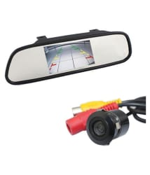 Impact 4.3 Inch TFT Rear View Mirror With H.D. Night Vision Camera
