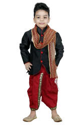 SMART BAZAR BOYS FESTIVE AND PARTY DHOTI KURTA WITH DUPTTA (PACK OF 1)