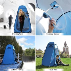 Portable Waterproof Pop up Tent Camping Beach Toilet Shower Changing Room Outdoor Bag