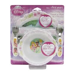 The First Years Disney Princess Feeding Set, Pack of 4 (Multicolor)