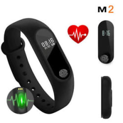 M2 Sport Smart Band Heart Rate Monitor Fitness Tracker Bluetooth for iOS Android