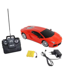 Fantasy India Remote Control Rechargeable Lamborgini Car - Red