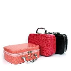 Women Toiletry Makeup Kit Storage Waterproof Cosmetic Bag Organiser
