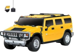 Fantasy India Yellow Rechargeable Remote Control Hummer Car