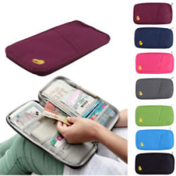 Travel Accessories Passport Holder Wallet Organizer Bag Case Pouch