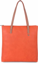 Shoulder Bag Orange, Beige