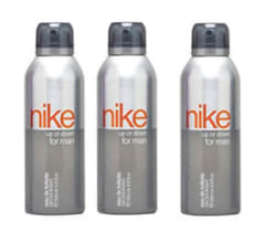 Combo of 3 Nike Up Or Down Men Deo for Men, Silver, 200ml
