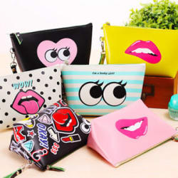 Cosmetic Makeup Bag Purse Wash Bag Organizer Pouch Pencil Case Bag
