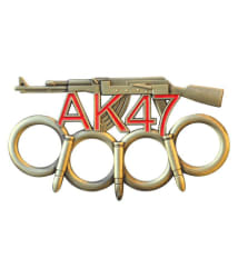 prijam Punch Knife AK-47 Style Knuckle (11 cm) Punch