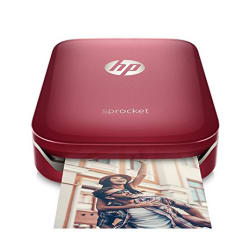 HP Sprocket Z3Z93A Portable Photo Printer (Red)