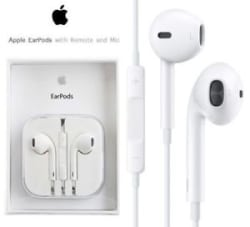APPLE iPhone with Remote Earphones Headphones Earpods Earbuds