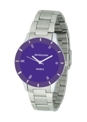 Grandson Purpel Casual Analog Watch For Girl s