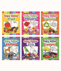 Copy Colour Book 1 To 6 (Pack) Paperback