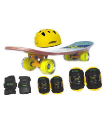 Jaspo Dragon Fire Pro Medium Skateboard Combo (24*6\