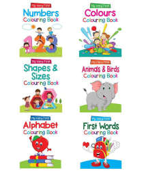 Colouring books Combo Pack (Set of 6)