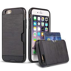 Bracevor Stylish iPhone 6 Plus, 6s Plus Transparent Case - Anti scratch, Shock proof, Bumper Cushion, Hard Back Cover - Blue