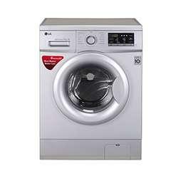 LG 7kg FH0G7QDNL52 Front Loading Washing Machine (White)