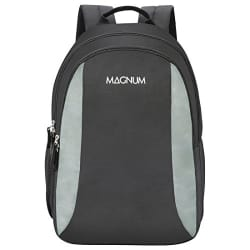 Magnum Polyester 24 Ltrs Black Laptop Backpack (PLUTO18CBBLK)