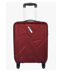 Safari Red S (Below 60cm) Cabin Hard TRAFFIK ANTI-SCRATCH 4W 55 RED Luggage