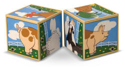 Melissa & Doug Farm Sound Blocks
