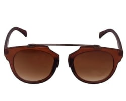 HH Brown Wayfarer Sunglasses (UV Protected)