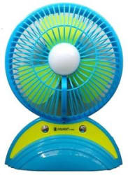 Multipurpose Rechargeable Fan With USB And LED Light