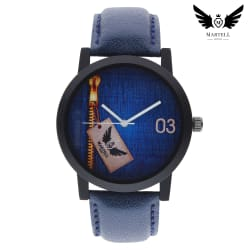 Martell Doran Series Blue Color Dial Analog Watch For Boys(Sporty/Stylish Watch)