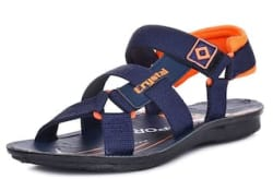 SHOETOEZ ST-A2-BL-OR CASUAL MEN S SANDALS. ALL WEATHER. WATERPROOF BEACHWEAR. SIZES 6-9