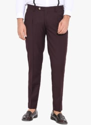 Wine Slim Fit Chinos