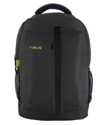 Timus Expert Branded Backpacks Laptop Backpack College Bag School Bag For Travel Grey 25 Litres