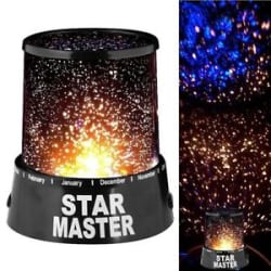 Colorful Romantic LED Cosmos Star Master Sky Starry Night Projector Bed Light