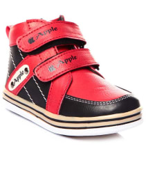 Trilokani Red Casual Shoes For Kids