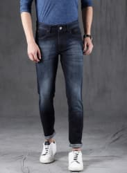 Blue Mid-Rise Skinny Fit Jeans